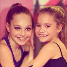 Maddie and Mackenzie! Love getting all my dance moms pic from @Dance Moms Fan Page  Check her out!!!
