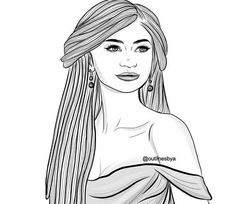 coloring pages of zendaya - photo#19