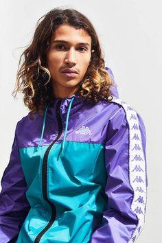UO Popular Men's Clothing: Most Liked Styles Popular Mens Clothing, New Man Clothing, Men's Clothing, Kappa Sportswear, Mens Fashion, Fashion Trends, Street Fashion, Windbreaker Jacket, Casual Wear