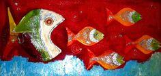 Persecución  pintura de  Mangel Gatti