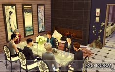 "from the lot ""EXO Dorm"""
