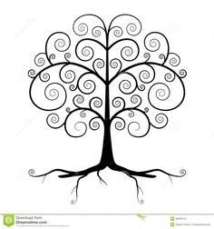Abstract Vector Black Tree Illustration Wall Mural ✓ Easy Installation ✓ 365 Day Money Back Guarantee ✓ Browse other patterns from this collection! Black Tree, Tree Silhouette, Silhouette Images, Silhouette Design, Button Art, Tree Designs, Dot Painting, Klimt, Gray Background