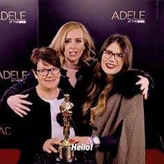 makeuphall:  21 Times Adele Was Actually Fucking Hilarious Not http://www.qunel.com/  fashion street style beauty makeup hair men style womenswear shoes jacket