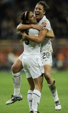 Women soccer players are strong, talented and athletic. They serve as great role models to young girls.