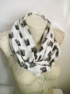 Tiger Print İnfinity Scarf  Animal Print Scarf  Black and White İnfinity Scarf by dreamexpress from dreamexpress on Etsy. Find it now at http://ift.tt/2d11qdC!