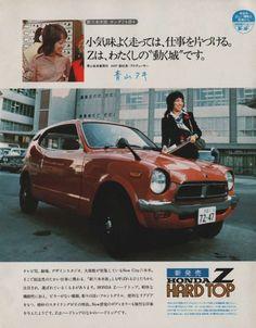 Honda Z HardTop adv