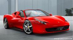 Typique du glamour Italien et connu dans le monde entier… La Ferrari