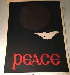 "Thomas W. Benton - ""Peace"". Hand pulled silkscreen - Signed in pencil ""Thomas W. Benton"" - 1969 di PrissyVintage su Etsy https://www.etsy.com/it/listing/492366693/thomas-w-benton-peace-hand-pulled"