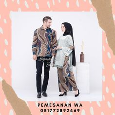 Model Baju Batik Couple Kombinasi Broklat Zalika Mutiara Untuk Kondangan Terbaru 2020 Batik Couple, Couples, Polyvore, Model, Fashion, Moda, Fashion Styles, Scale Model