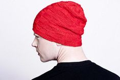 Choose a DK or worsted weight yarn and knit this easy checks pattern with knit & purl stitches. Select the 8x8 or 16x16 pattern repeat for a small or large texture. Wear the hat slouchy or folded for a thicker brim.