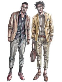 Men Fashion Designer Sketches Men s Fashion Illustration