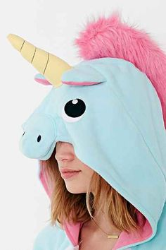 Kigurumi Unicorn Costume - Urban Outfitters