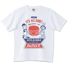 ジャンクフードデザインTシャツ特集に掲載されました。 - Design For Everyday Cool Graphic Tees, Graphic Shirts, Cool Tees, Printed Shirts, Tee Shirts, Shirt Print Design, Tee Design, Shirt Designs, Logos Retro