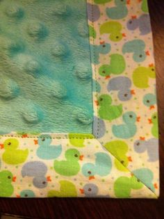 How to Sew a Nice Corner on a Blanket