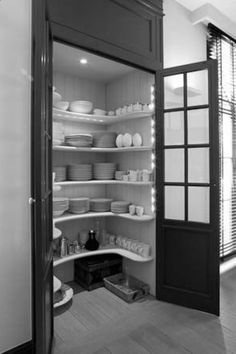Dish pantry www. Dish pantry www. Dish pantry www. Kitchen Decor, Pantry Design, Kitchen Interior, Home Kitchens, Interior, Laundry Room Design, Barn Kitchen, Kitchen Remodel, Kitchen Pantry Design
