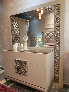 Wall Wardrobe Design, Bedroom Closet Design, Home Room Design, Luxury Bedroom Furniture, Home Decor Bedroom, Sofa Bed Design, Home Entrance Decor, Sala Grande, Room Partition Designs