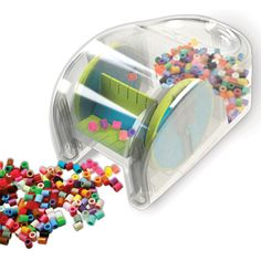 Have you ever used these beads??? I have to get one of these!!! $4.99 Never leave a mess behind—with Perler's Bead Sweeper, cleanup is easy!