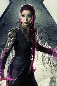 x men-blink is so beautiful  I wish I can be like her.