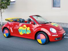 The Wiggles Big Red CAR