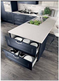 Want kitchen organization DIY's and inspiring photos. Check out this blog post. Create Home Storage