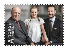 MYROYALS FASHİON: New stamps for Crown Prince Haakon and Crown Princess Mette Marit's 40th Birthday-King Harald, Princess Ingrid Alexandra, Crown Prince Haakon Magnus
