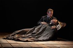 Bradley Cooper and Alessandro Nivola in the Elephant Man on Broadway