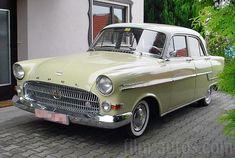 Oldtimer Opel Kapitän von 1957 mieten - 3128