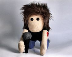Stuffed RockStar Plush By Saint Angel Angel Alloy-McFarlin