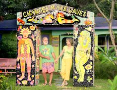 HERE WE IN MOSAIC 8' X 8' MOSAIC ARCH Mosaic Art, Tampa Bay, Home Art, This Is Us, Museum, Culture, Gallery, Artist, Artwork