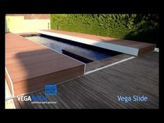 Construcción de Cubiertas para piscina, Vegametal - YouTube