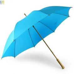 Parapluie publicitaire écologique RAINY : en PET recyclé et bambou