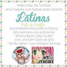 Micaela Ferrero   Nuevo Tutorial de Latinas Arts and Crafts   http://micaelaferrero.com