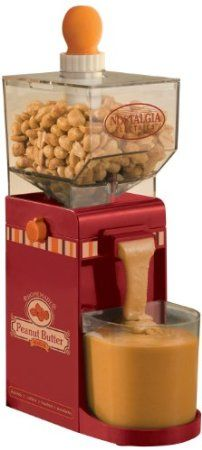 Amazon.com: Nostalgia Electrics NBM400 Electric Peanut Butter Maker: Amazon Warehouse Deals