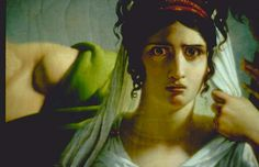 """Close up of """"Phedre et Hippolyte - Baron Pierre-Narcisse Guerin"""" I love this painting purely because of the expression on her face. Jules Massenet, French Art, Ancient Greece, My Favorite Music, Art World, Close Up, Mythology, Opera, Art Pieces"""