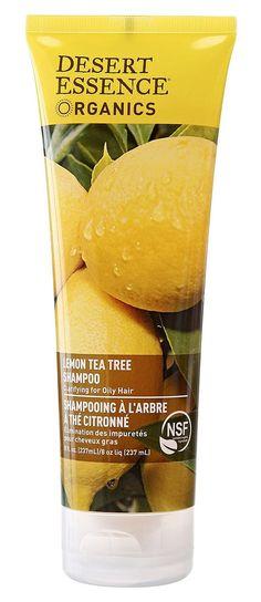 Desert Essence Organics Hair Care Shampoo, for Oily Hair