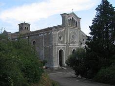 Basilica of Santa Margherita in Cortona, Italy