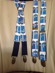 TARDIS Suspenders