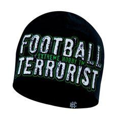 Motyw kibicowski na czapce 'Football Terrorist' ---> Streetwear shop: odzież uliczna, kibicowska i patriotyczna / Przepnij Pina!