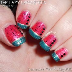 Lazy Lacquerista: International Nail Art Day :: 3 August 2013