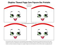 Shopkins Inspired Poppy Corn Party Favor - Made by A Princess