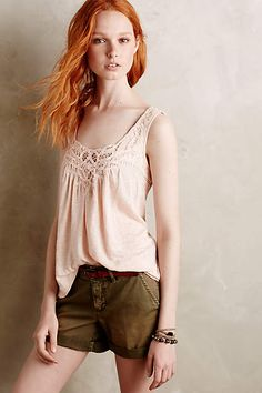 Laced Lei Tank #anthroregistry
