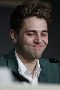 Xavier Dolan Photos - 'Mommy' Press Conference at Cannes - Zimbio