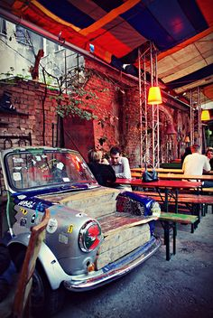 Budapest Jewish Quarter - in a ruin pub | Flickr - Photo Sharing!