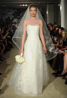 Carolina Herrera Spring 2015 Wedding Dresses