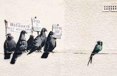 Britain Banksy - ASSOCIATED PRESS