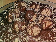Εκπληκτικό «Ferrero cake»! Cake Recipes, Muffin, Sweets, Cookies, Chocolate, Breakfast, Desserts, Food, Crack Crackers