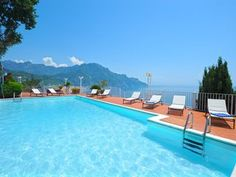 Idyllic With Private Pool, In The Lower Part Of Ravello (Sea Side), Near Amalfi