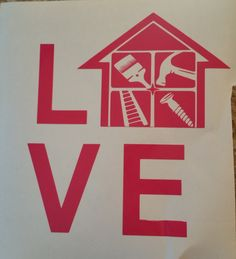Handyman LOVE Decal/Independent Contractor/Home Improvement/DIY/Construction by…