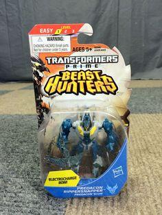 NEW 2012 HASBRO TRANSFORMERS PRIME BEAST HUNTERS PREDACON RIPPERSNAPPER GRUNT #Hasbro