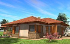 Egyszintes családi ház 167 m2 | Családiházam.hu Gazebo, Pergola, Sustainability, My House, House Plans, New Homes, Exterior, Outdoor Structures, House Design